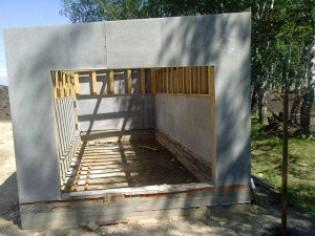 Как крепить плоский шифер к стене – пошаговая схема