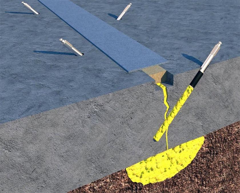 Технология инъекции гидроизолирующих материалов