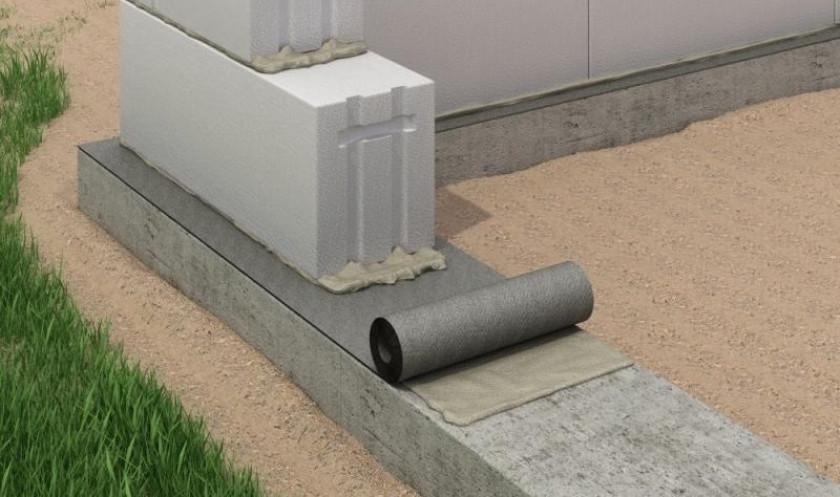 Виды гидроизоляции фундаментов по расположению