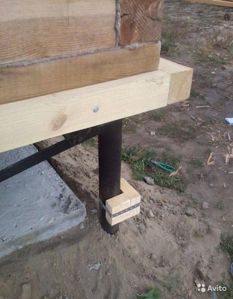 Используемые материалы для строительства забирки