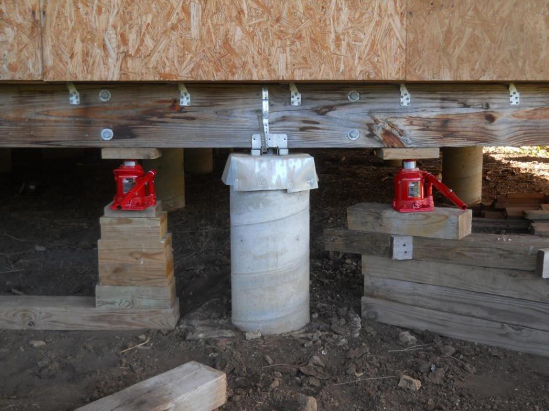 Основные этапы реконструкции фундамента