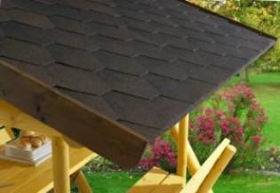 Чем покрыть крышу беседки на даче: варианты