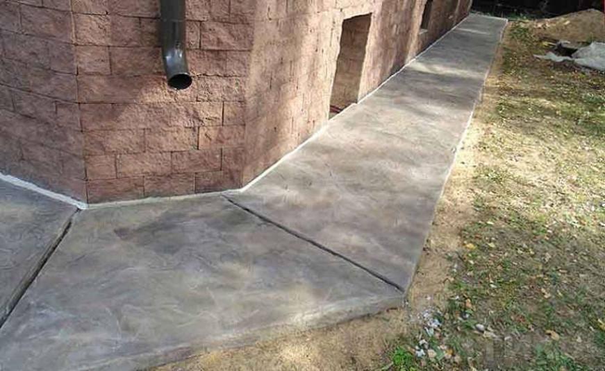 Как сделать отмостку из бетона вокруг дома