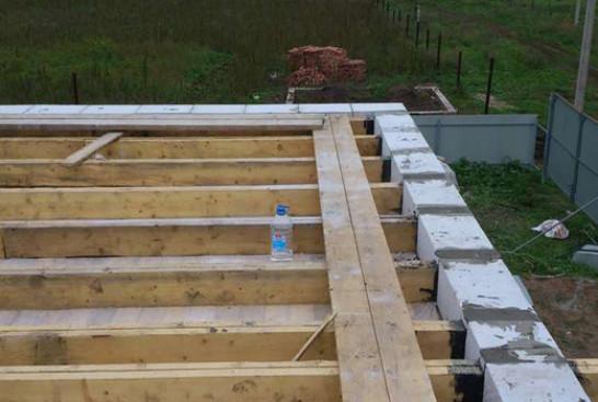 Устройство деревянных перекрытий в газобетонных домах