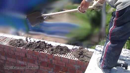 Толщина раствора под плиты перекрытия