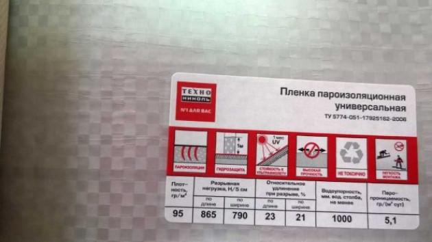 Ведущие производители пароизоляционных изделий для кровли