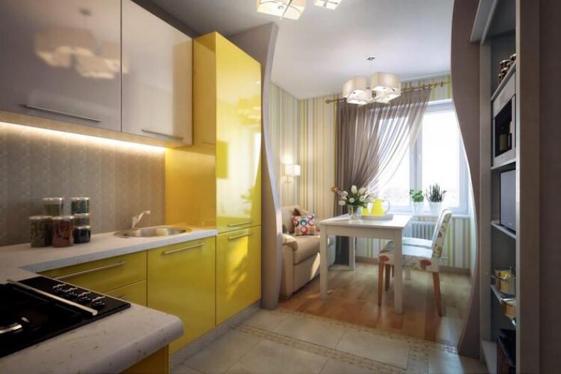 Организация пространства на кухне: идеи для размещения мебели и посуды