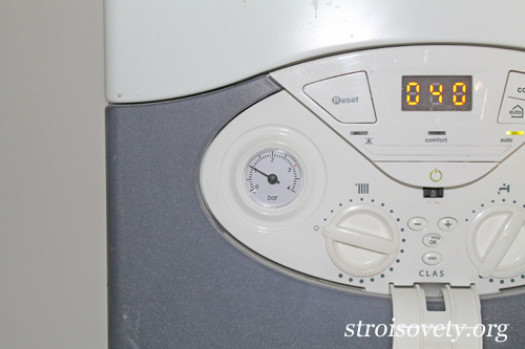 Наполнение системы отопления водой