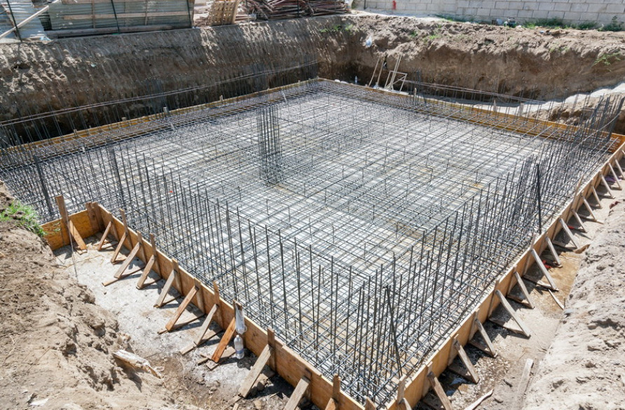 Армирование фундаментной плиты: значение процесса