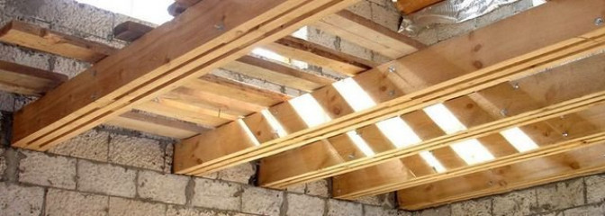 Особенности установки сборных плит перекрытия в частном строительстве
