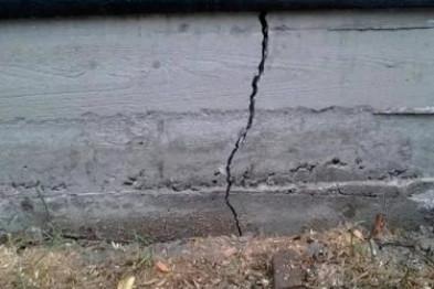 Трещина в фундаменте— как и чем можно заделать трещины