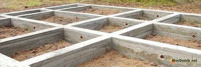 Ленточный незаглубленный фундамент. Технология строительства