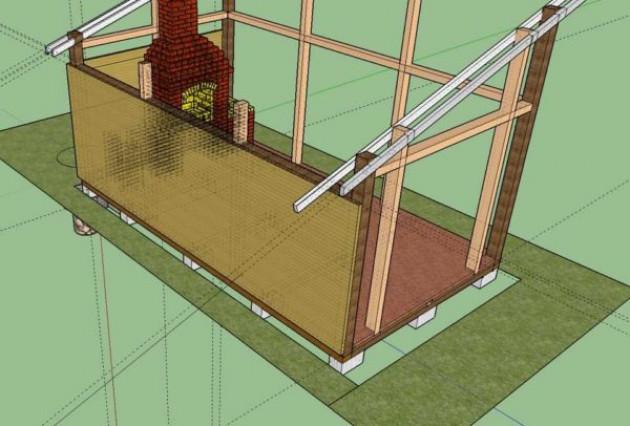Крепление стропил к мауэрлату без запила односкатной крыши, двухскатной крыши, в деревянном доме, скобами, гвоздями, уголками