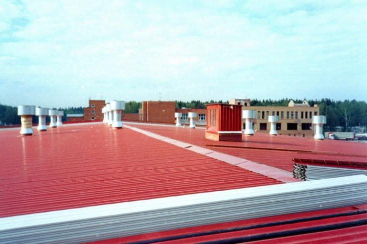 Минимальный уклон для крыш из профнастила