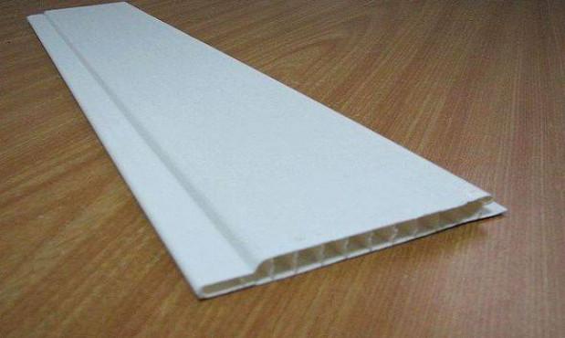 Характеристики пластиковых панелей
