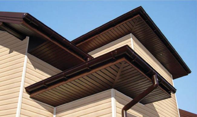 Подшивка крыши сайдингом — инструкция