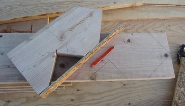 Превращаем деревянный брус в стропила