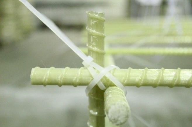 Правильная вязка стеклопластиковой арматуры