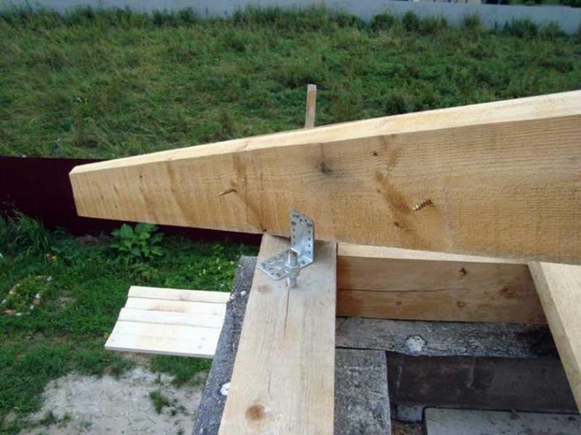 Строим шатровую крышу своими руками