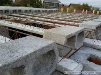 Правильно уложенные железобетонные балки перекрытия сделают конструкцию надежной