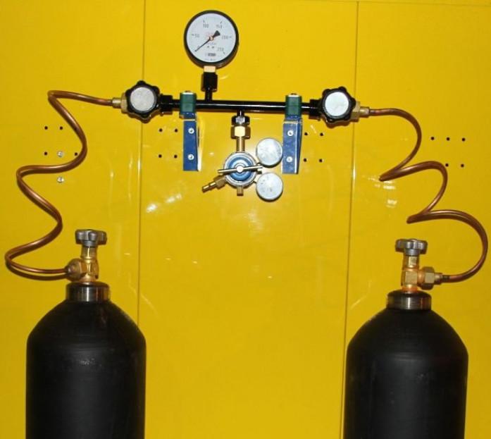 Как подключить газовый котел к баллонам?