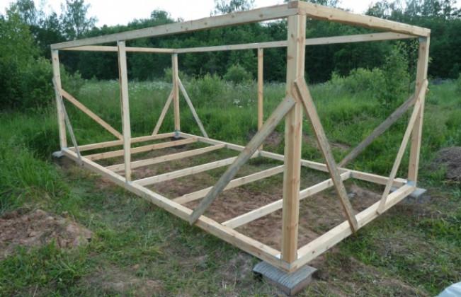 Как построить простой сарай