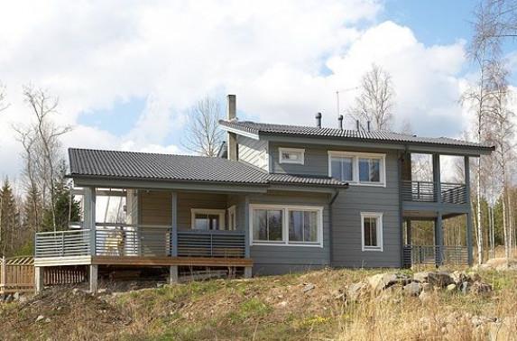 Порядок строительства дома из бруса