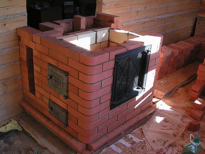 Эффективная печь для гаража своими руками