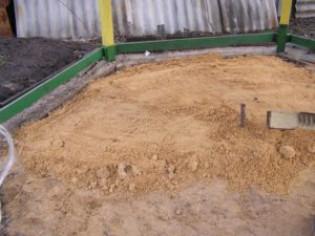 Как выбрать, какой песок нужен для подушки фундамента