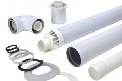 Коаксиальный дымоход для газовой колонки