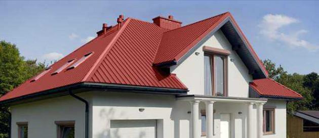 Особенности монтажа двухскатной крыши из профнастила