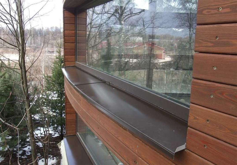 Полукруглые или фигурные окна