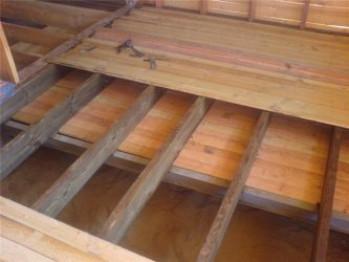 Как правильно утеплить деревянный пол в деревянном доме