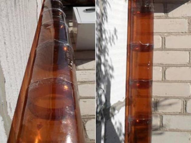 Водоотлив из пластиковых бутылок