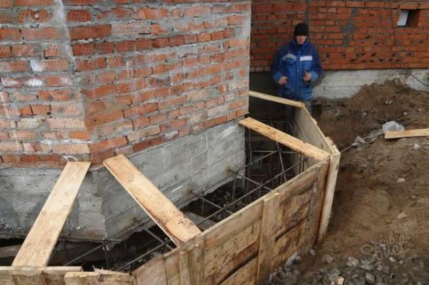 Как переделать ленточный фундамент деревянного дома