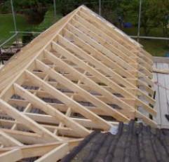 Крыша на баню: что за чем?