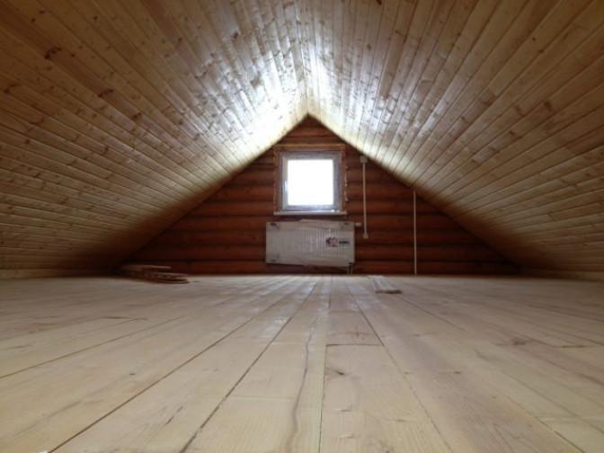 Виды двускатных крыш для бани