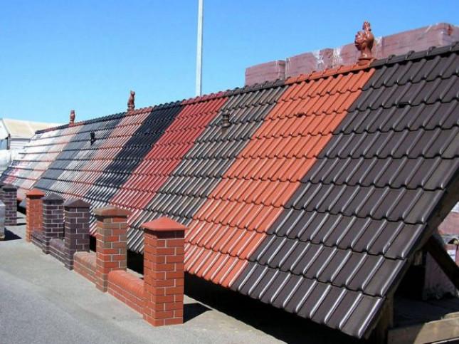 Выбор кровельного покрытия для крыши в три ската