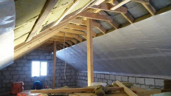 Особенности гидроизоляции крыши дома