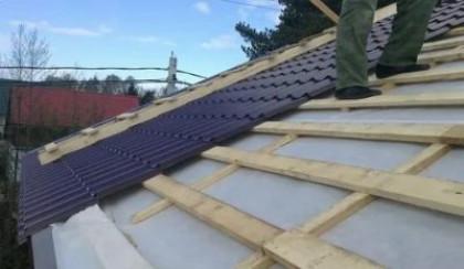 Как правильно класть гидроизоляцию на крышу?