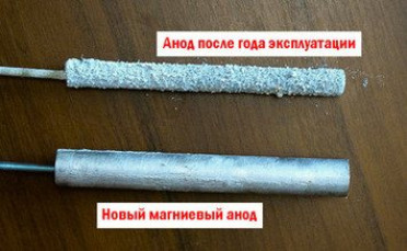 Что такое магниевый анод и зачем он нужен в водонагревательном баке