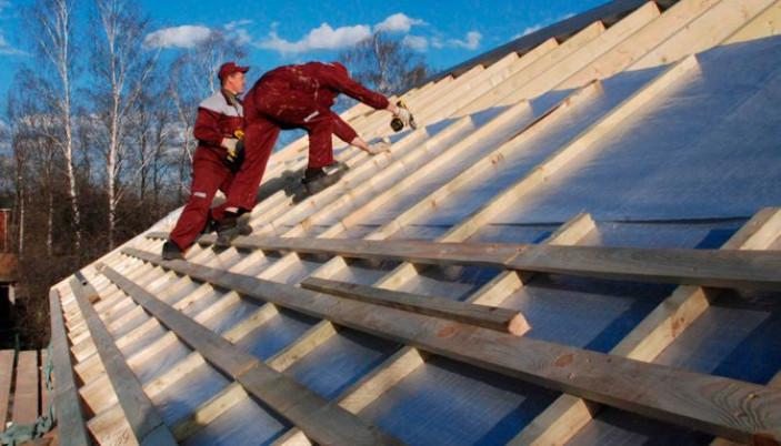 Этап Защита утеплителя от влаги