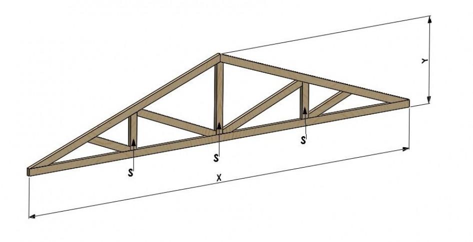 Инструкция для калькуляторарасчета треугольной фермы