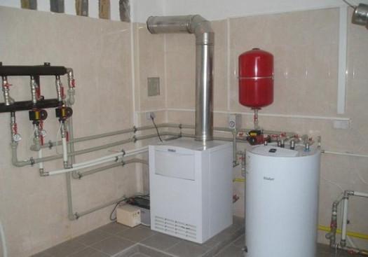 Газовое оборудование для водяного отопления