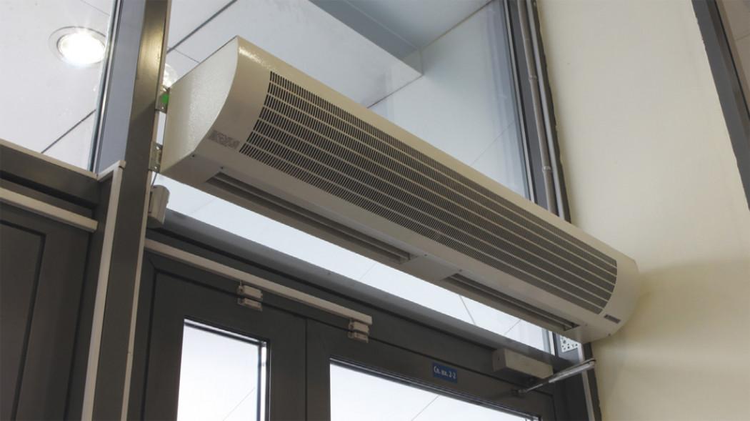 Для гаража: тепловые завесы, пушки и вентиляторы