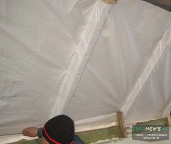 Последовательность утепления крыши мансарды изнутри